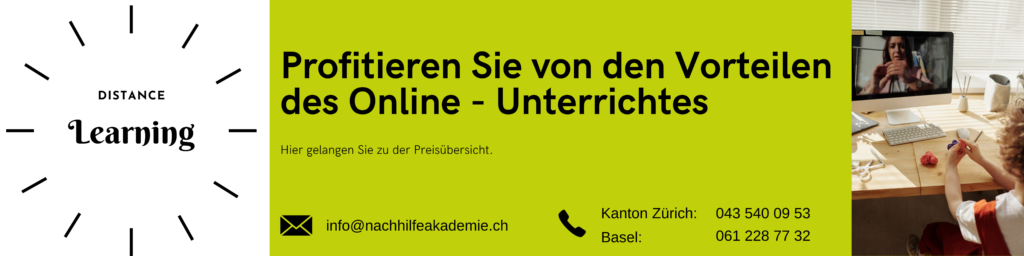 Online - Unterricht